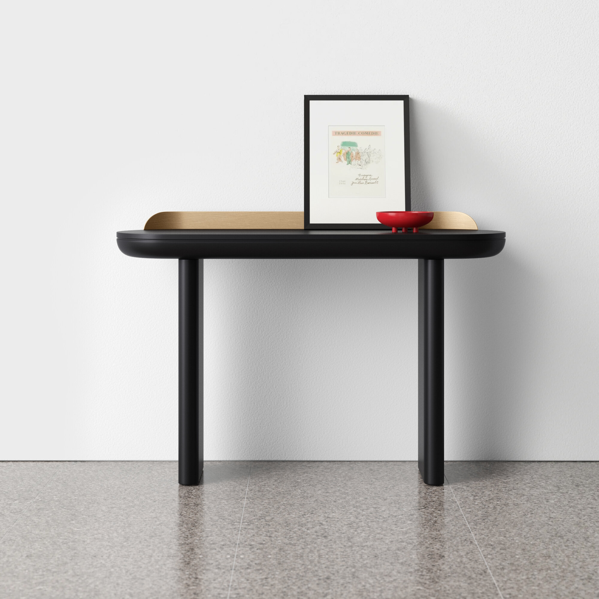 Bateman 48 Solid Wood Console Table Reviews Allmodern