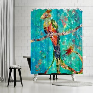 Sunshine Taylor Quetzal Single Shower Curtain
