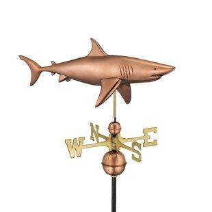 Broomsedge Shark Weathervane Image