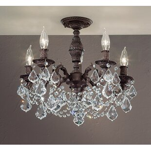 Chateau Imperial 5-Light Semi-Flush Mount by Classic Lighting