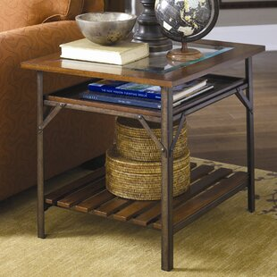 Calderwood End Table by Gracie Oaks