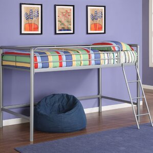 myron junior twin low loft bed