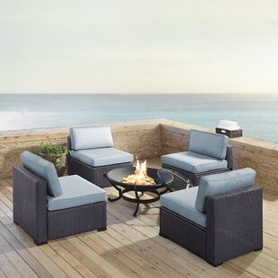 Dinah 5 Piece Conversation Set with Cushions