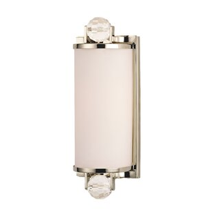 Lavina 1-Light Bath Sconce by Rosdorf Park