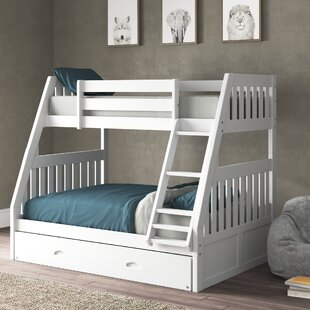 Orval Twin over Full Bunk Bed with Trundle by Greyleigh