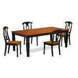 Beesley 5 - Piece Butterfly Leaf Dining Set by Darby Home Co