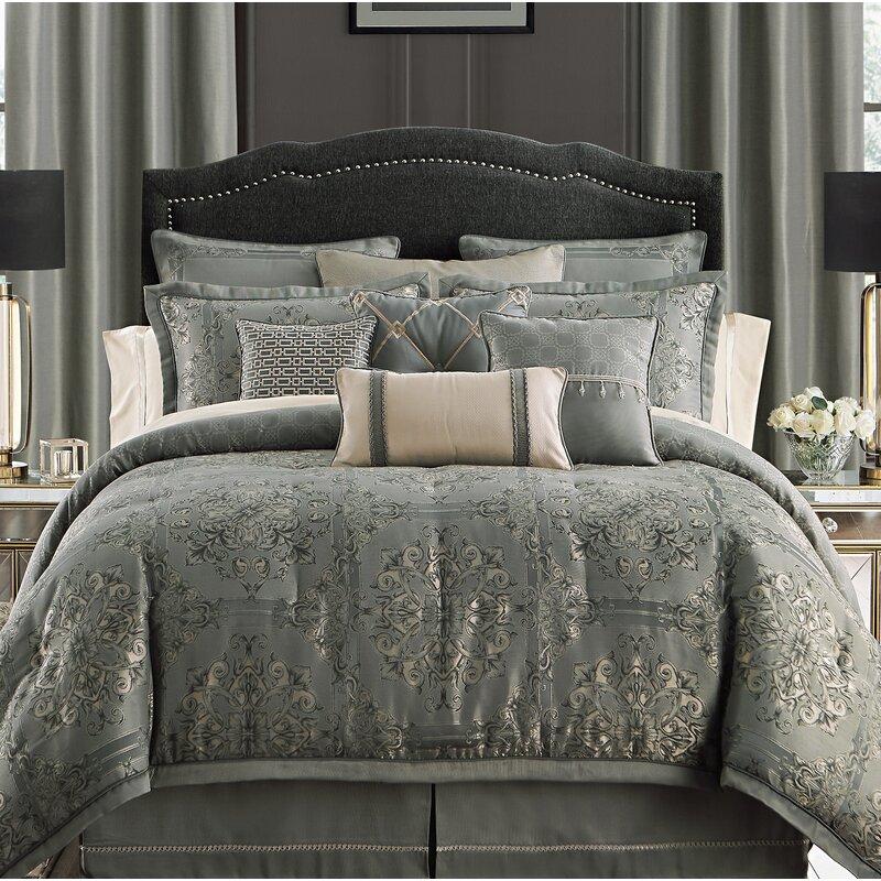 Waterford Bedding Dimitrios Reversible Comforter Set Reviews