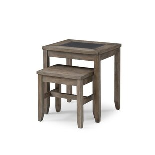 Great choice Kinch 2-Piece Nesting Tables by Ophelia & Co.