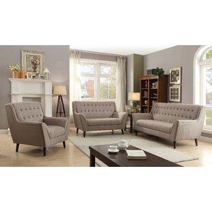 Corrigan Studio Kenya 3 Piece Living Room Set