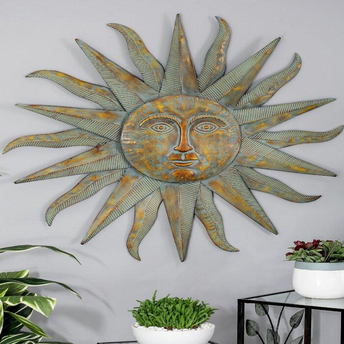 Modern Sun Inspired Wall Decor