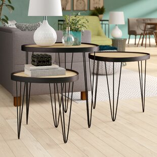 Fogle 3 Piece Nesting Tables (Set of 3)
