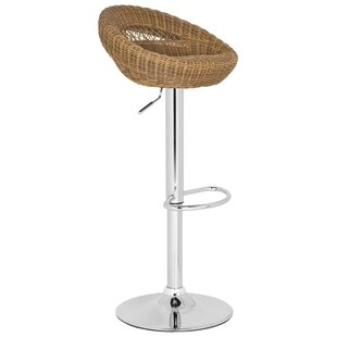 Fann Adjustable Height Swivel Bar Stool b..
