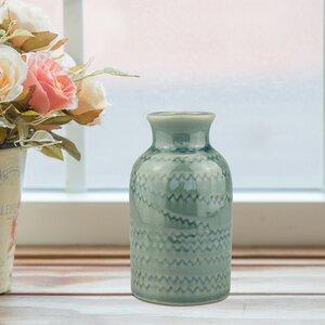 Stonebriar Turquoise Table Vase