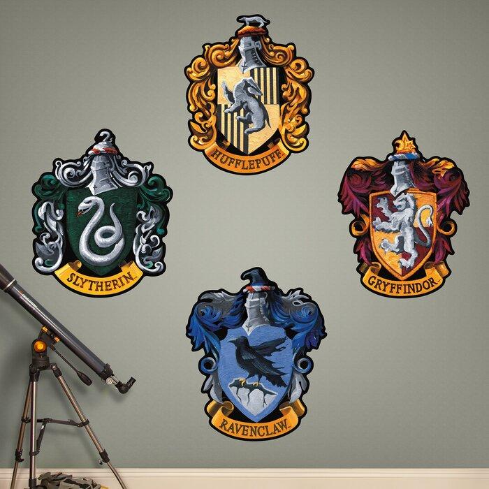 Harry Potter Hogwarts House Sigils l and Stick Wall Decal on back house ideas, blue house ideas, stone house ideas, nature house ideas, green house ideas, spirit house ideas, water house ideas, dream house ideas, steampunk house ideas, fire house ideas,