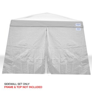 V-Series 2 10 Ft. W x 10 Ft. D Sidewall Canopy Kit by Caravan Canopy