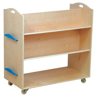 School Library 375 Book Cart by Guidecraft
