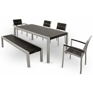 Surf City 6 Piece Dining Set by Trex Outdoor