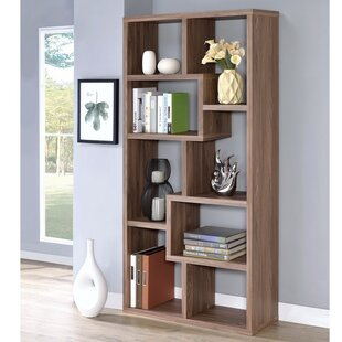Burr Wooden Cube Unit Bookcase Wrought Studio