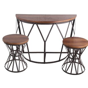 McCurdy 3 Piece Console Table Set
