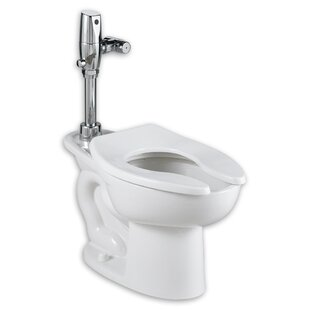 American Standard Madera Ada Selectronic Everclean Flush Valve 1.1 GPF Elongated One-Piece Toilet