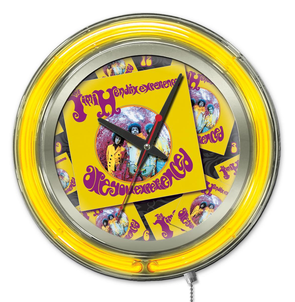 Holland Bar Stool Jimi Hendrix Album Double Neon Ring Logo Wall ...