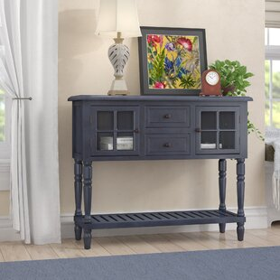 navy blue console table wayfair rh wayfair com distressed blue sofa table blue metal sofa table