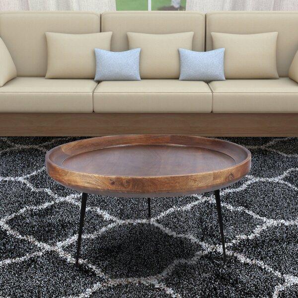 Mango Wood Coffee Table Round Wayfair