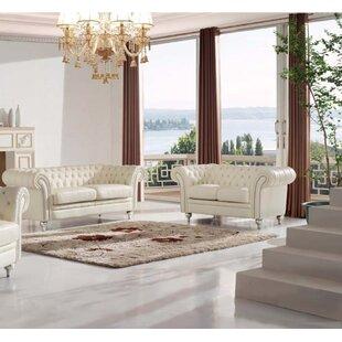 Noci Design 2 Piece Living Room Set