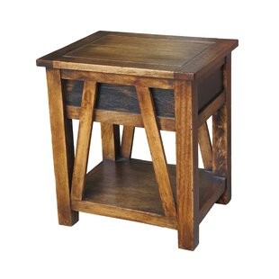 ZallZo Handmade Maksim End Table