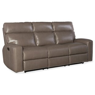 Hooker Furniture Mowry Power Motion Leather Reclining Sofa