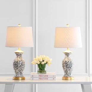 Mercer41 Carnation 27'' Table Lamp (Set of 2)