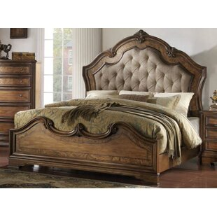 Astoria Grand Limones Upholstered Panel Bed