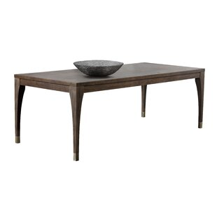 Zenn Greyson Solid Wood Dining Table by Sunpan Modern Sale