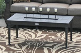 Rosston Patio Aluminum Coffee Table