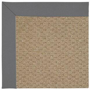 Lisle Machine Tufted Ash/Brown Indoor/Outdoor Area Rug