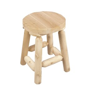 Rustic Natural Cedar Furniture 18 Bar Stool