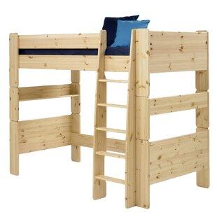 Low Price Tot To Teen European Single High Sleeper Bed