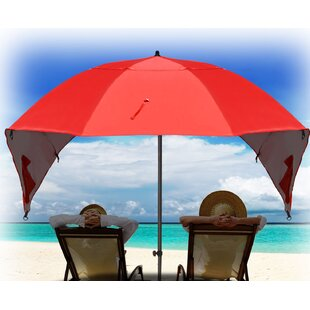 Highland Dunes Hartsdale Portable Sun and Weather 7' Beach Umbrella