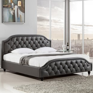 Best Reviews Minton Upholstered Platform Bed by American Eagle International Trading Inc. Reviews (2019) & Buyer's Guide