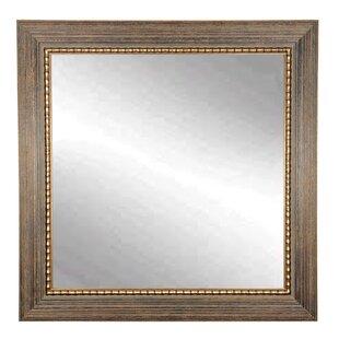Wood Trail Square Wall Mirror ByBrandt Works LLC