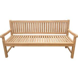 Casson Teak Garden Bench