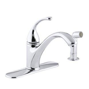 Kohler Forté 4-Hole Kitchen Sink Faucet with 9-1/16