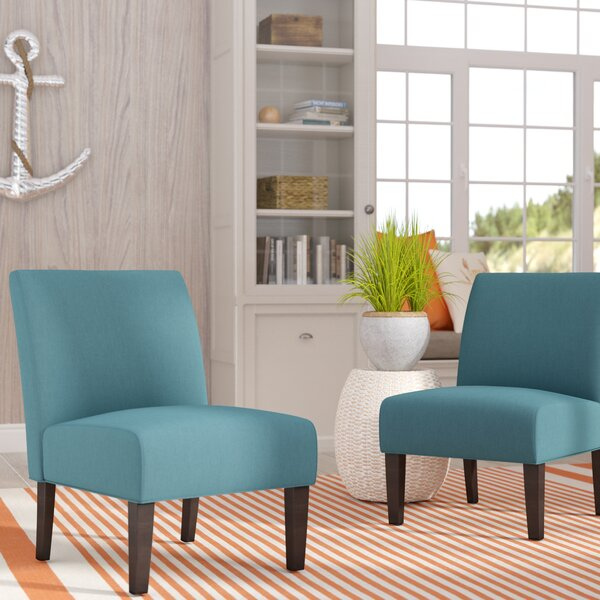 set of 2 slipper chairs wayfair