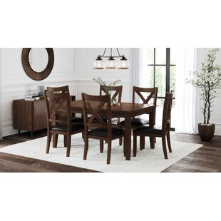 Chinook 7 Piece Dining Set by Alcott Hill