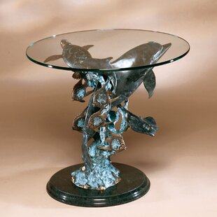 SPI Home Dolphin Seaworld End Table