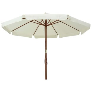 Carli 3.3m Beach Parasol By Freeport Park