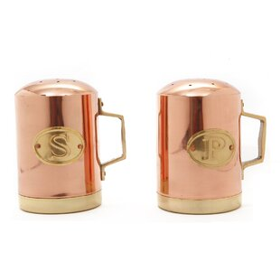 Copper Stovetop Salt and Pepper Set