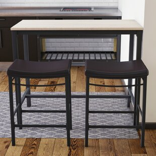 Bezons 3 Piece Pub Table Set by Trent Austin Design