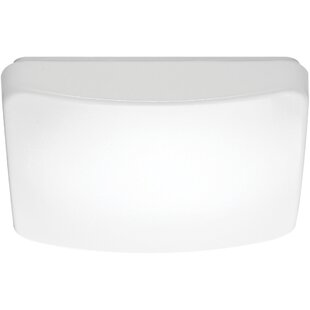 Ebern Designs Dahle LED Outdoor Flush Mount
