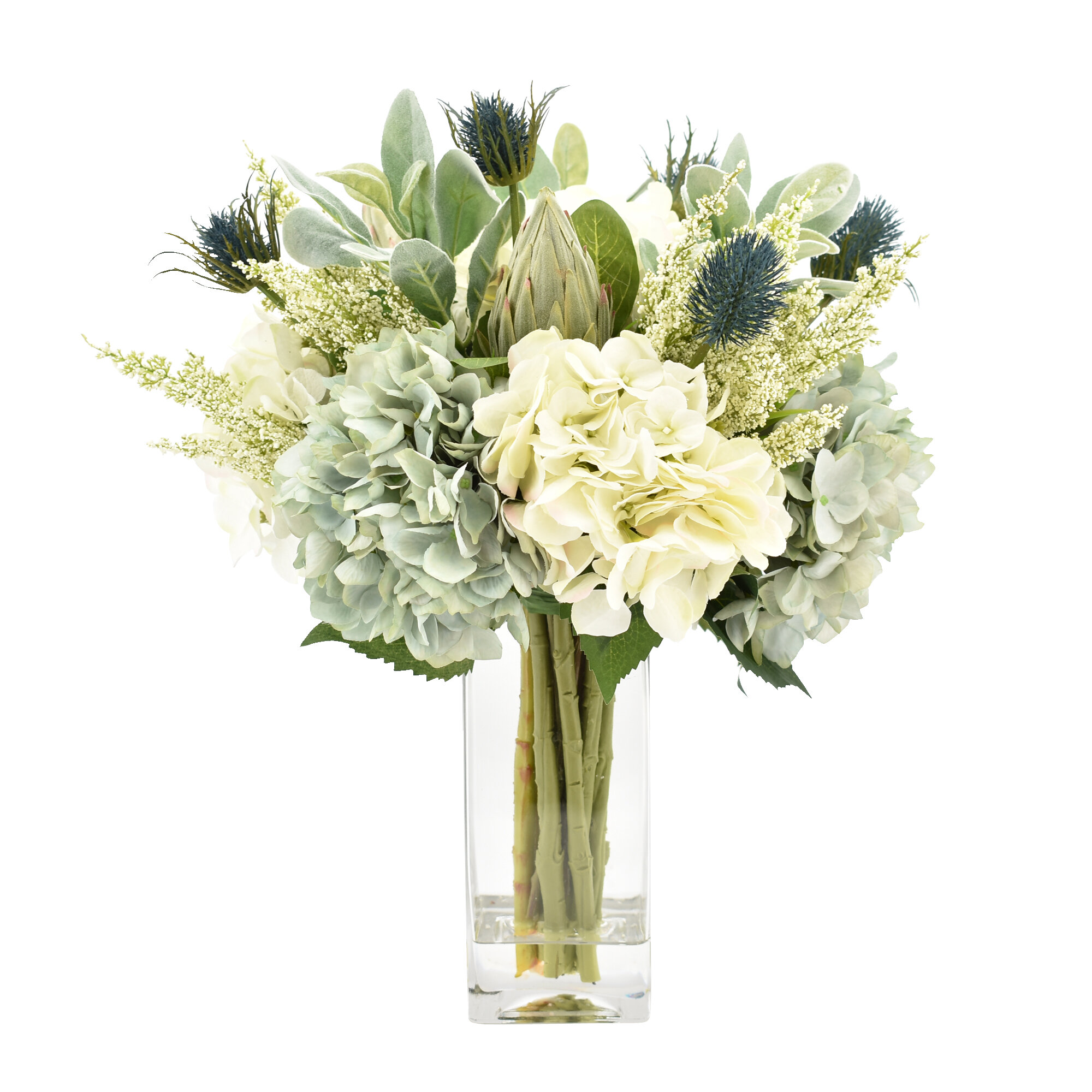 Creative Displays Inc Mixed Floral Arrangement In Vase Reviews Perigold